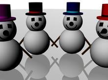 第一支Android程式-Unity遊戲 Skiing Snowman