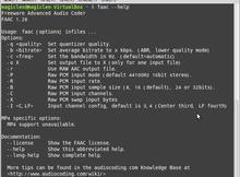 如何在Linux下編譯並安裝FAAC?