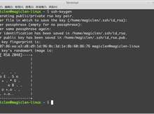 Linux如何產生SSH金鑰?