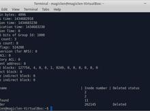 使用extundelete救回ext3、ext4檔案系統下誤刪的檔案