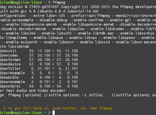 如何用FFmpeg將影像轉成H.264/MPEG-4 AVC格式?