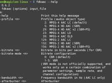 如何在Linux下編譯並安裝Fraunhofer FDK AAC?