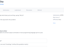 HackerRank 支援多種程式語言的線上程式解題系統
