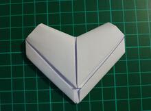 自己折出愛心信紙,向愛人表達滿滿的愛意
