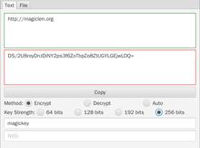 Crypt Tool 文字和檔案加密工具