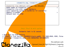 Clonezilla(再生龍)免費開源的系統備份軟體,支援Linux、MAC和Windows常見的檔案系統