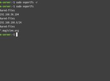 使用Ubuntu Server架設NFS伺服器