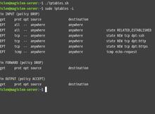 Ubuntu Server 如何永久儲存iptables的設定?