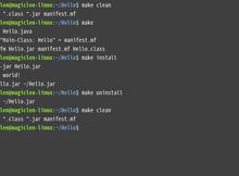 GNU Make 的基本使用方式