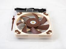 貓頭鷹noctua NF-A12x15 PWM散熱風扇開箱